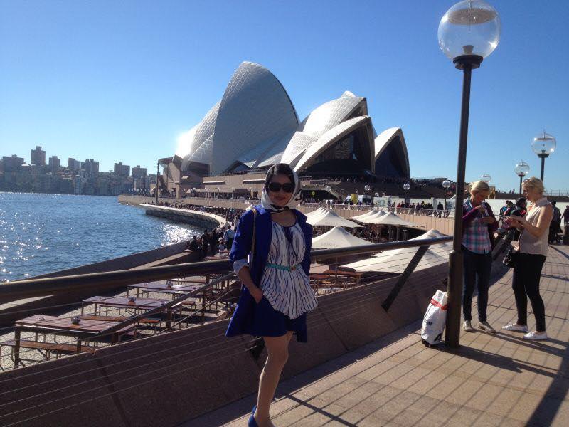 FC Zhou Wan Ming tại Australia
