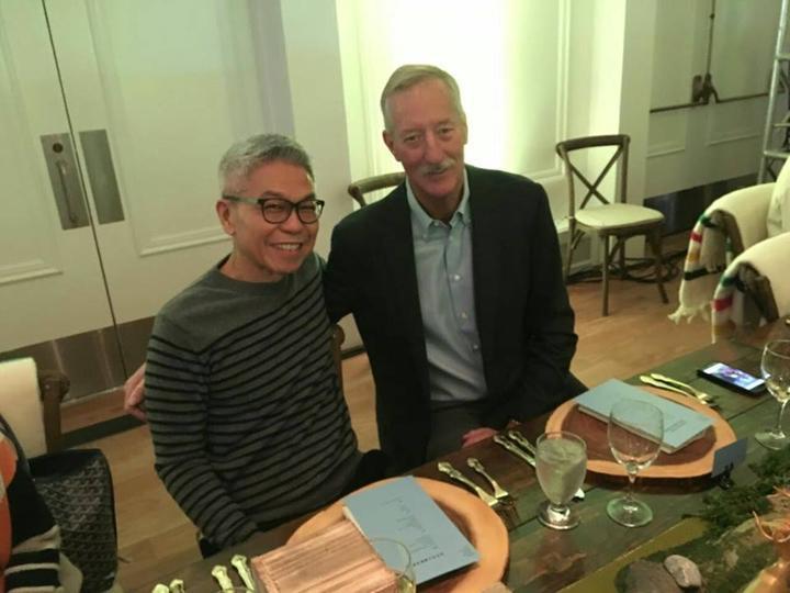 FCA Phó Hậu Kiên chụp với Mr Steve Van Andel